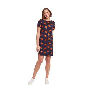 Draper James Poppy Navy A-Line Nassau Dress NWT M